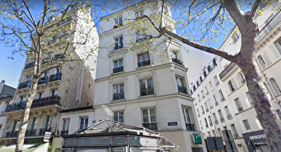 Studio occupé Paris 17