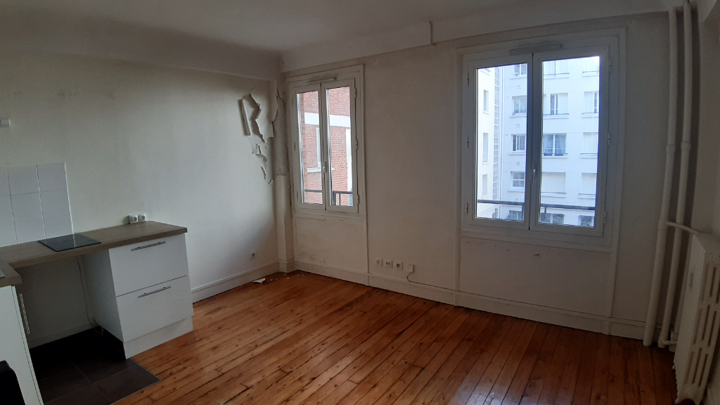 Appartement 75017, une studio de 17 m² 1/2